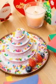 Christmas cake — Стоковое фото
