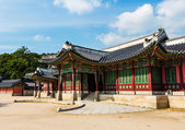 Korean traditional architecture — Stock Photo