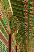 Buddhistic temple ornaments — Stock Photo