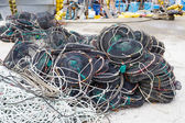 Empty traps for capture fisheries — Stockfoto