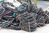 Traps for capture fisheries — Stockfoto