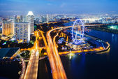 Singapore landscape — Stock Photo