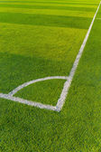Artificial Turf on a Sports Field — Stock Photo