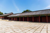Ancient korean traditional architecture — Stock Photo