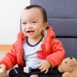 Cute asian baby boy — Stock Photo