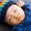 Asibaby boy take nap — Stock Photo #37742647