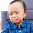 Stock Photo: Asibaby boy feeling sad