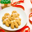Gingerbread man cookie — Stock Photo #37849213
