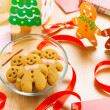 Gingerbread cookie — Stock Photo #37849217