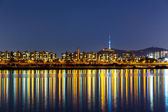 Seoul skyline — Stock Photo