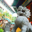 Chinese traditional dragon statue — Foto Stock