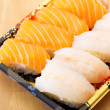 Assorted Japanese sushi — Stock Photo #38284267