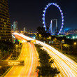 Singapore city at night — Stock Photo #38285101