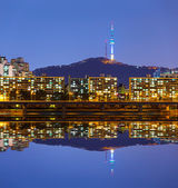 Seoul stad — Stockfoto