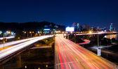 Traffico intenso a seul — Foto Stock