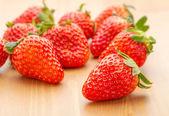 Heap of strawberry — Stock Photo