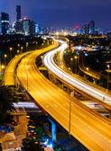 夜のクアラルンプール — ストック写真