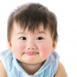 Asian little girl smile — Stock Photo