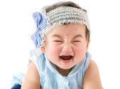 Asian baby girl smile — Stock Photo