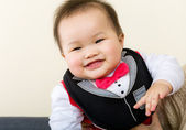 Little boy giggle — Stock Photo