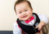 Little boy giggle — Stock Photo