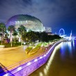 Stock Photo: Singapore night