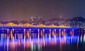ソウルのスカイライン — ストック写真