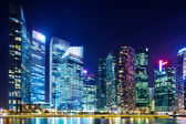 Financial district in Singapore — Stock Photo