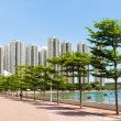 Waterfront of residential area — Stock Photo #39028377