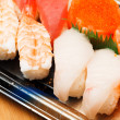 Assorted Japanese sushi — Stock Photo #39028659