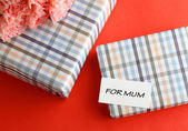 Gift for mother — Stock Photo