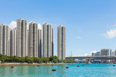 Hong kong residential area — Stock Photo
