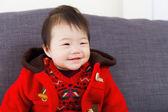 Little girl smile — Stock Photo