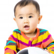Baby football lover — Stock Photo #39050831