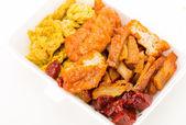 Chinese style vegetarian food — Stock Photo