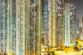 Hong kong nacht — Stockfoto
