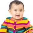 Stock Photo: Baby feel happy