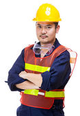 Asian Construction worker — Stock Photo