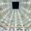 Stock Photo: Interior of Twin tower type building in Hong Kong