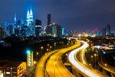 Kuala Lumpur at night — Stock Photo
