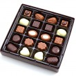 Box of chocolate — Stockfoto