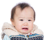 Baby crying — Stock Photo