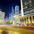 Traffic in Hong Kong at night — Stock Photo #39949459