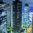 Tokyo city at night — Stock Photo