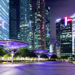 Stock Photo: Singapore financial district