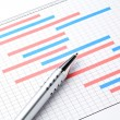 Stock Photo: Project plgantt charts