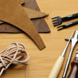 Leather craft tool — Stock Photo #40071775