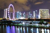 Singapore night — Foto de Stock