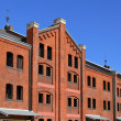 Stock Photo: Red brick warehouse in Yokohama