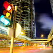 Stock Photo: Traffic light in the city